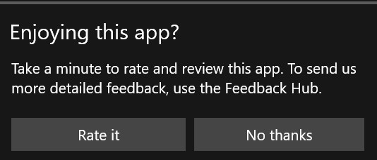 Windows Insider Team: there's Feedback, and then there's