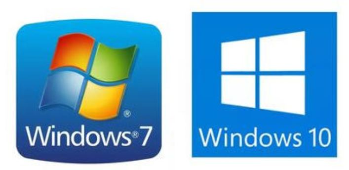 Windows 7 & 10 logos
