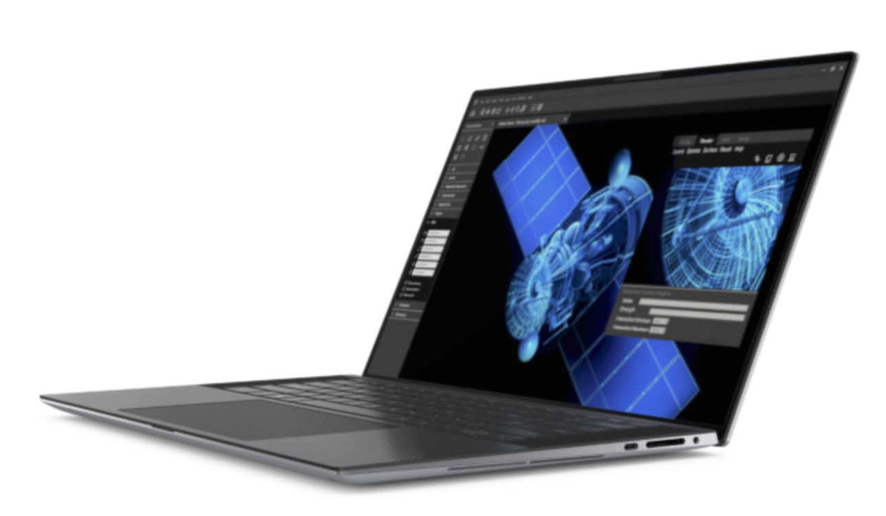 Dell Precision 5550 Mobile Workstation sideview